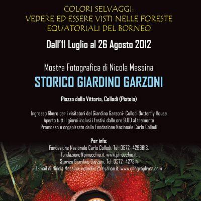 Storico Giardino Garzoni, Collodi (PT), 11 Luglio-26 Agosto 2012