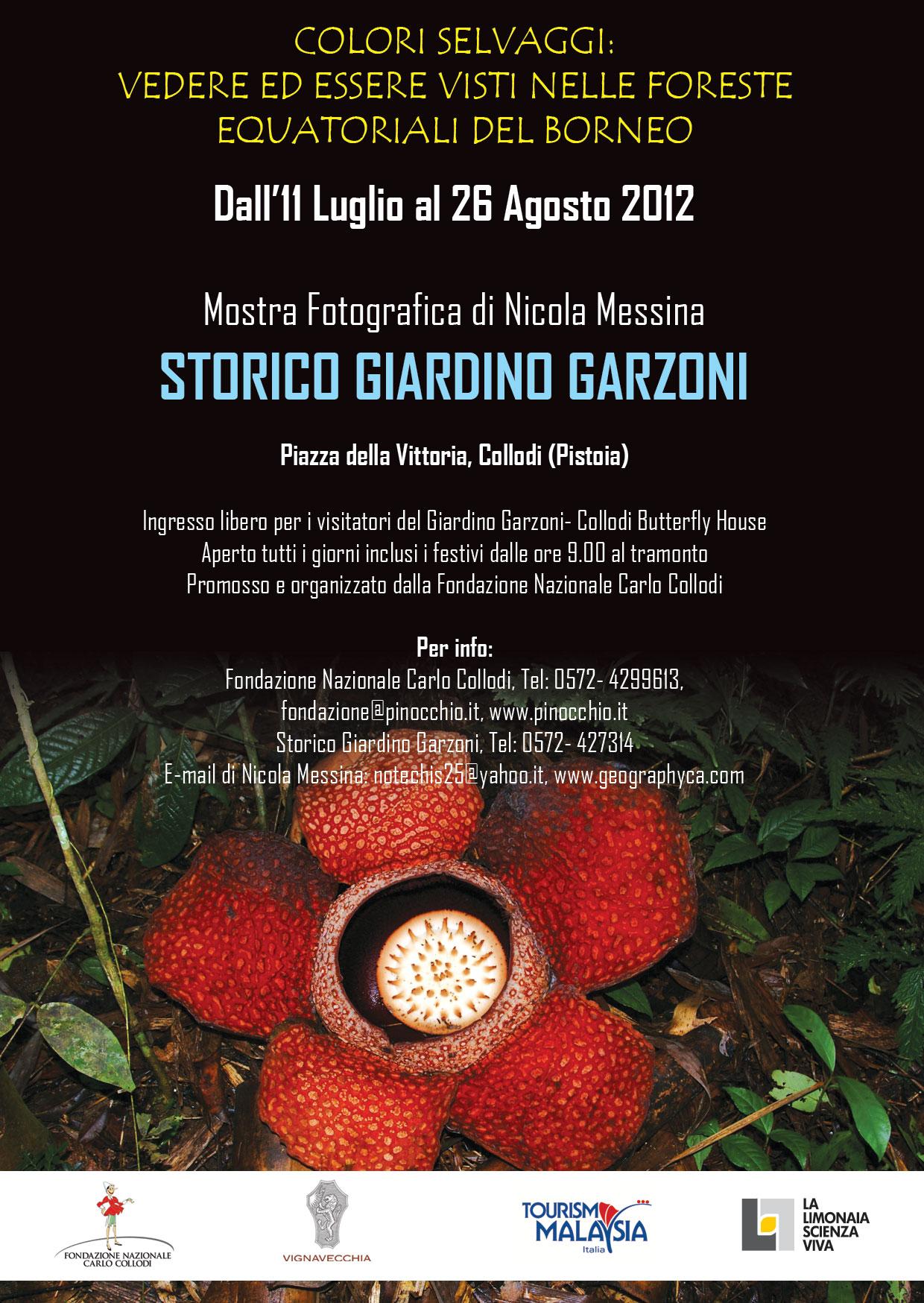 11 Luglio-26 Agosto 2012, Giardini Storici Villa Garzoni, Collodi (PT)