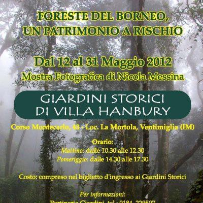 Giardini Storici di Villa Hanbury, Ventimiglia (IM), 12 Maggio-30 Giugno 2012