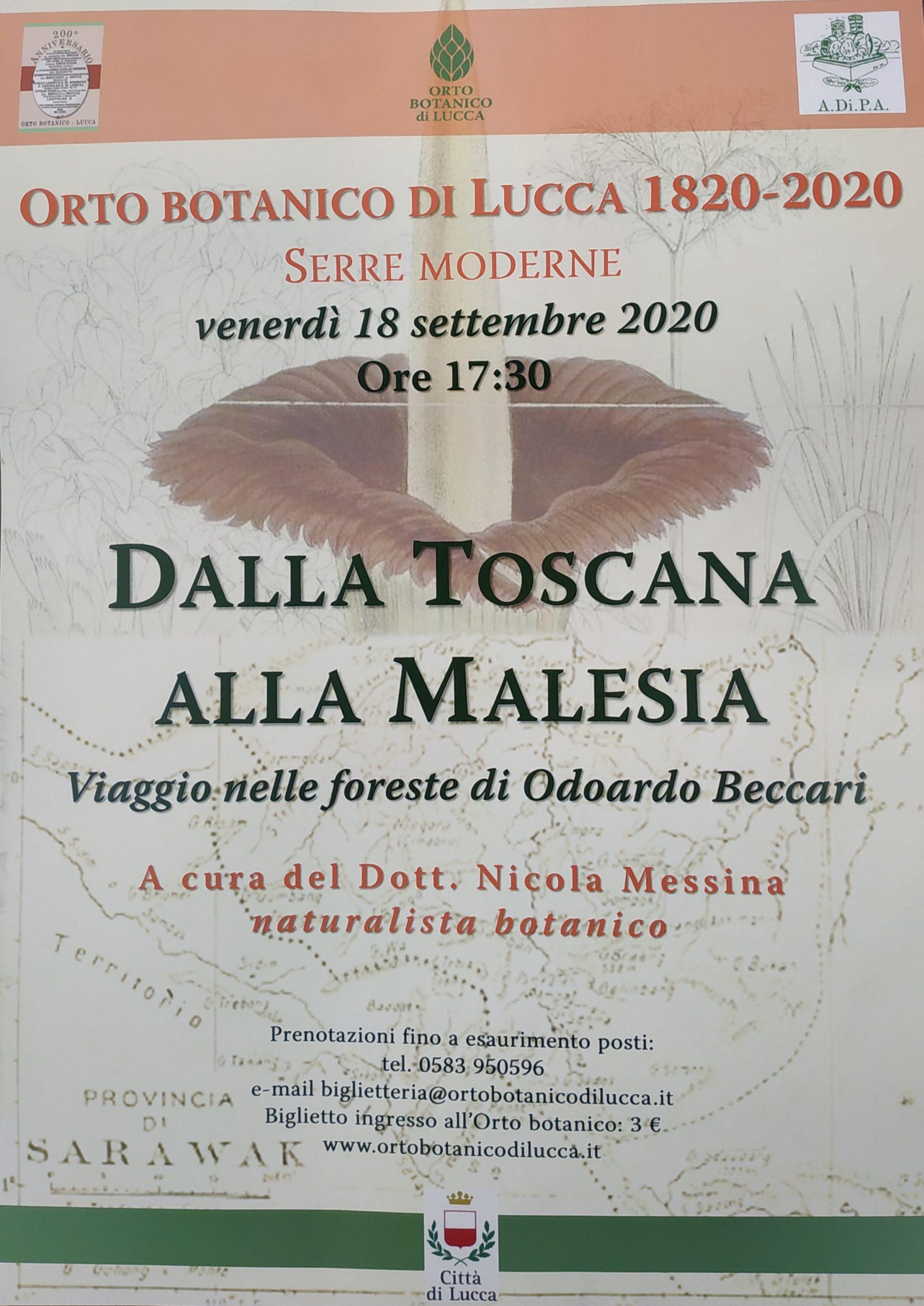 18 Settembre 2021, Orto Botanico, Serre Moderne, Lucca